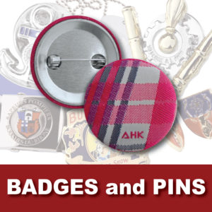 AHK Solutions Products - Badges and Pins
