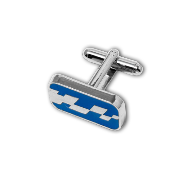 AHK Solutions - Badges and Pins - Cufflinks and Tie Bars - Cufflink with 2D Zamac Badge with Enamel 2