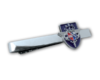AHK Solutions - Badges and Pins - Cufflinks and Tie Bars - Tie Bar with 2D Injected Zamac Badge with Colorful Epoxy, Nickel Plating