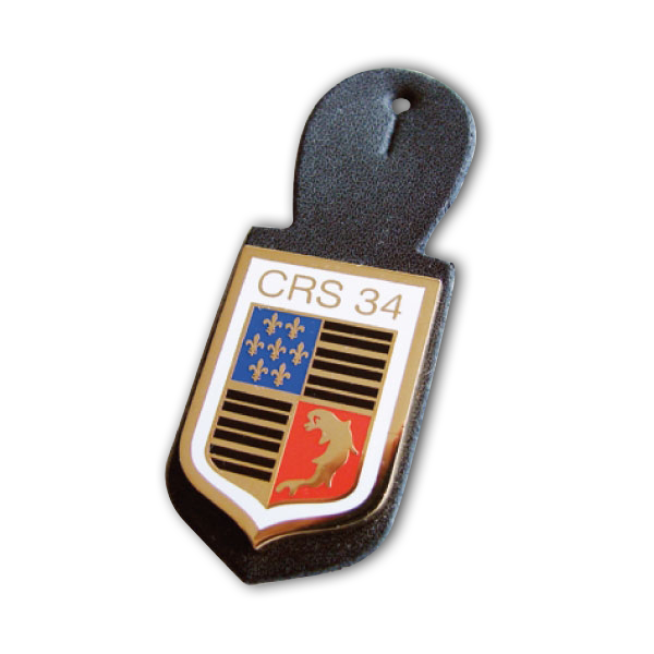 AHK Solutions - Badges and Pins - 2D Injected Zamac Badge with Soft Cloisonné