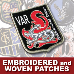 AHK Solutions Products - Embroidered and Woven Patches