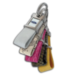 AHK Solutions - Exclusive Keychains - Adagio Keychain - Adagio Exclusive Keychain with Reptile Straps