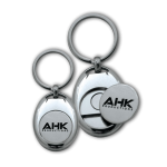 AHK Solutions - Keyholders and Metal or ABS Coins - Metal Coin Keyholder and Bottle Opener ATC-30