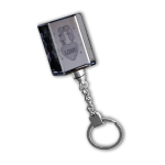 AHK Solutions - Other Keychains - Glass Keychain 2D or 3D Laser Engraved