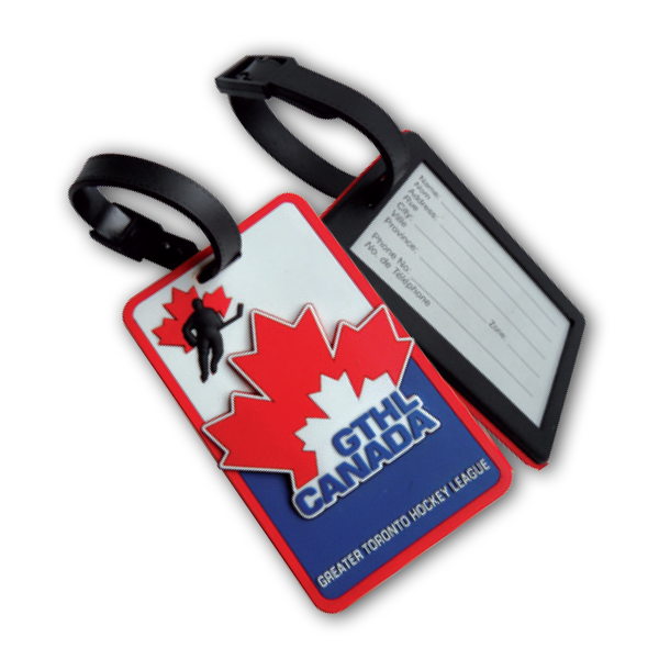 AHK Solutions - Others We Do - Luggage Accessories - 3D PVC Name Tag
